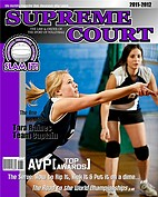 Volleyball Purple - Front
